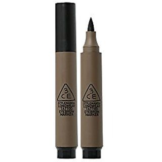 3CE (3 Concept Eyes) Longwear Tattoo Eyebrow Marker (4g) (Ash Brown)