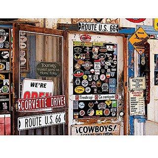 Colorluxe 1000 Piece Puzzle - Route 66 Memorabilia