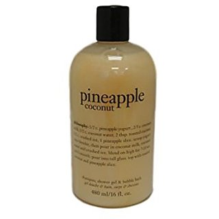 Philosophy Pineapple Coconut 16oz 3 in 1 Shower Gel, Shampoo and Bubble Bath
