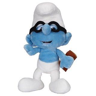 Smurfs Bean Bag Plush Wave #2 Brainy