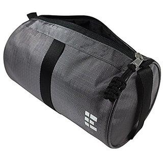 Mens Toiletry Travel Bag & Dopp Kit, Gray
