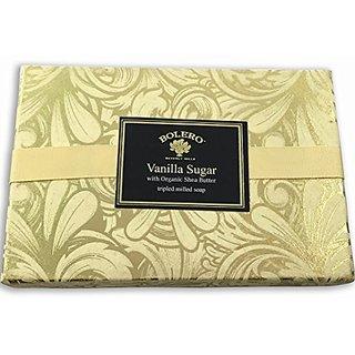 Bolero Luxury Soap Gift Set Vanilla Sugar 3x6 ounce
