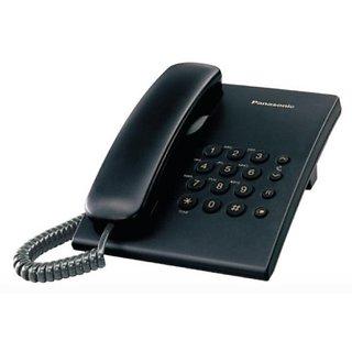 Panasonic Single Line KX-TS500MXBD Corded Phone (Black)