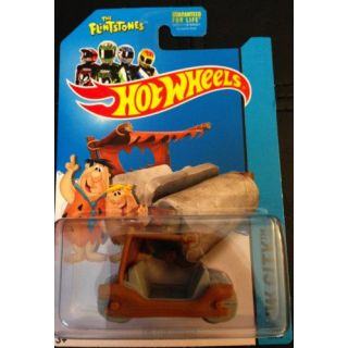 2014 Hot Wheels Hw City 83-250 - Flintmobile (The Flintstones)