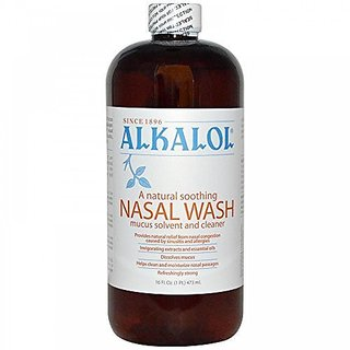 Alkalol Company - Alkalol Mucus Solvent and Cleaner - 16 oz. (Pack of 2)