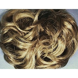 977 Diamond 3-inch Pony Fastener Hair Scrunchie - 24-14 Blonde-Brown