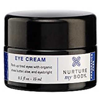 Organic Eye Cream by Nurture My Body - 100% Pure All Natural Ingredients - Firming, Hydrating, and Moisturizing Treatmen