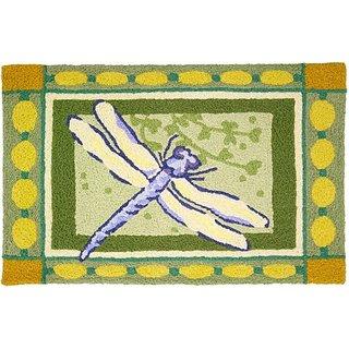 Jellybean Dragonfly Indoor Outdoor Rug