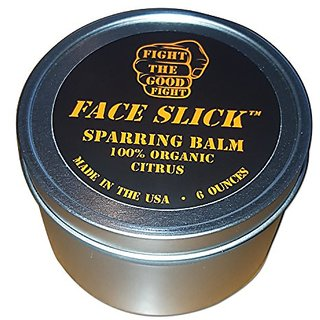 FACE SLICK SPARRING BALM CITRUS 6 OZ. Organic Balm By Fight The Good Fight Ammo. Pure All Natural Healing Organic Balm.