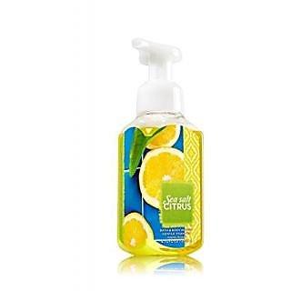 Bath & Body Works Gentle Foaming Hand Soap Sea Salt Citrus