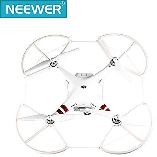 Neewer® 4 Pieces 10-Inch Propeller Guards Protectors for DJI Phantom 3 Professional, Advanced and Standard, Comes wi