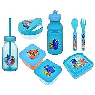 Disney Pixar Finding Dory 8 Piece Lunch and Snack Set -BPA Free