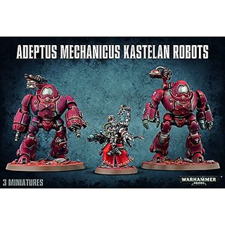 Warhammer 40K Adeptus Mechanicus Kastelan Robots by Games Workshop