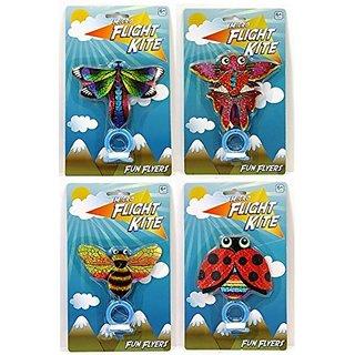 Toysmith Micro Flight Bug Kite Pack of 4