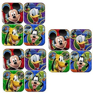Disney Mickey Mouse Clubhouse Playtime Party Cake Dessert Plates - 24 Guests