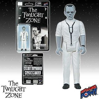 The Twilight Zone Doctor Bernardi 3 3 4-Inch Figure Series 2