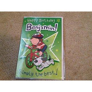 Happy Birthday Benjamin - Singing Birthday Card