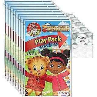Daniel Tiger Grab n Go Play Packs (12 Packs)
