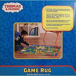Thomas the Tank Engine & Friends Game Rug with Train