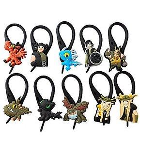 AVIRGO 10 pcs Soft Zipper Pull Charms for Bag Jacket Set # 55-3