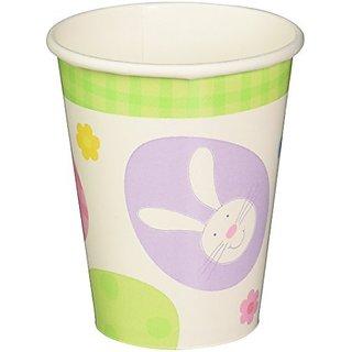 Amscam Extravaganza Paper Cups, 8 Per Package, 9 oz, Multicolor