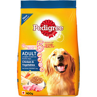 Pedigree (Adult - Dog Food) Chicken  Vegetables, 400 Gm Small Pack