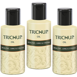 Trichup Healthy Long Strong Herbal Hair Oil (100 ml) (Pack of 3)