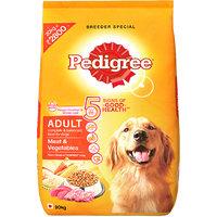Pedigree (Adult - Dog Food) Meat  Vegetables, 20 Kg Pack (Treats)