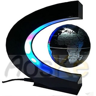 Wingler Christmas Gift Present High Rotation Mirror Luxury Creative Shape Magnetic Suspension Maglev Levitation Globe Te