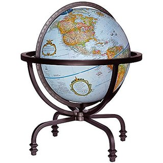 Replogle Auburn 12 in. Blue Desk Globe
