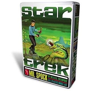 AMT Mr. Spock Tin Model Kit, Limited Edition