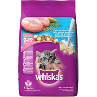 Whiskas (Kitten - Cat Food) Junior Ocean Fish, 1.1 Kg Pack