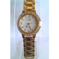 Vr Series Golden Stylish Unisex Watch (latest Desiener Collection)