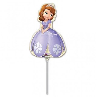 DISNEY Princess Sofia The 1st Birthday Party Mini Shape Balloons Favor Decoration