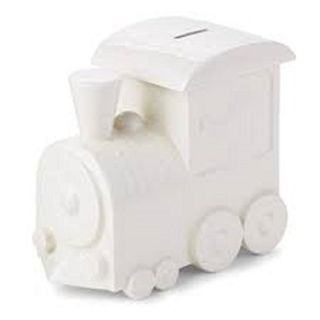 Hallmark Baby Keepsakes ~ A Bank For The Conductor ~ Ceramic Bank With Sound