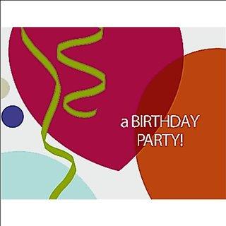 Birthday Celebration Invitations - 8 Count