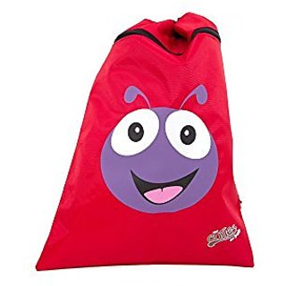 CUTIES AND PALS TRAVEL SCHOOL DRAWSTRING BACKPACK SHOE BAG - LADYBUG