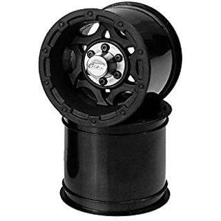 J Concepts 3335B Tense Rustler and Stampede 2.2 Electric Front Wheel, Black
