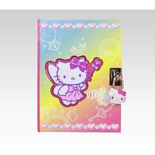 Sanrio Hello Kitty Diary With Lock & Key: Fairy