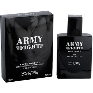 Shirley May Army Fight EDT Perfume for Men