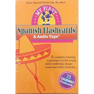 My First Spanish Flashcards and Audio Tape