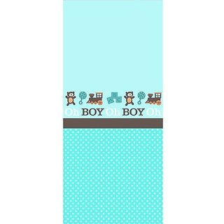 Boy Oh Boy Baby Shower Table Cover