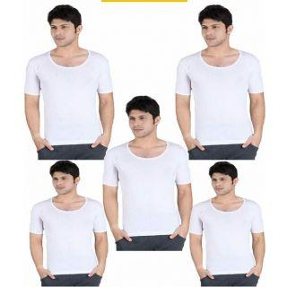 Round vests for men pack of 5