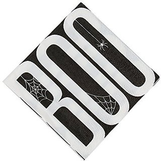 Boo Beverage Napkins 16 Pcs