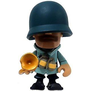 Team Fortress 2 Portable Mercs Mini Figure Blu Soldier