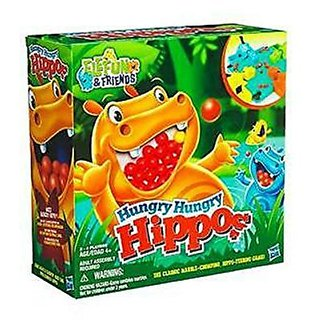 Elefun & Friends Hungry Hungry Hippos Board Game