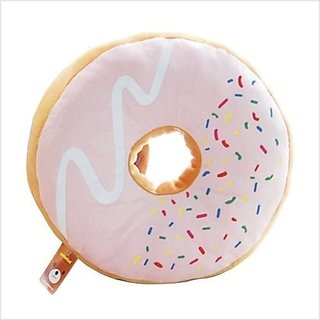 donut plush toy cushion bed chair pillow~strawberry
