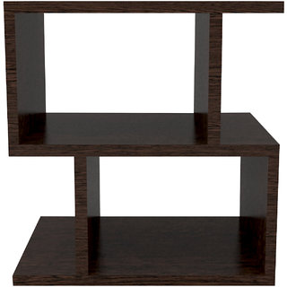 INTEX STYLES - IMPERIAL BEDSIDE TABLE (WENGE COLORED)