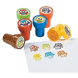 Plastic Owl Stampers (2 Pack)
