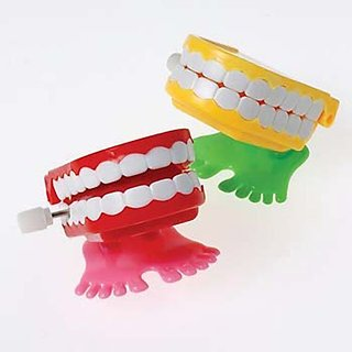 US Toy - Wind Up Chattering Teeth
